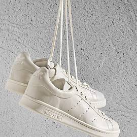 adidas - BNY Sole Series x adidas Stan Smith Leather Sneakers