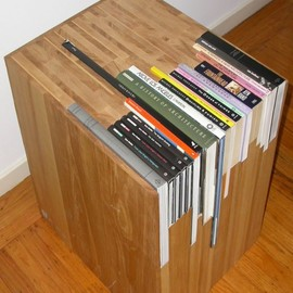 Customized Book Side Table