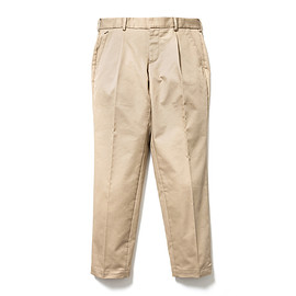 SON OF THE CHEESE - wide tack pants (BEIGE)