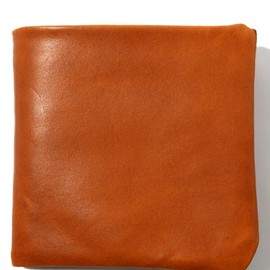 COSMIC WONDER Light Source - VEGETABLE TANNED LEATHER BIFOLD WALLET - BASIC ITEM (BASIC COLOR)