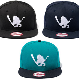 "SANTASTIC! - NEW ERA 9FIFTY ""BAT SARU"""