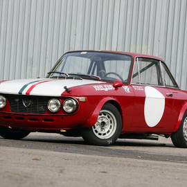 Lancia - Lancia Fulvia Coupe HF Rally Car