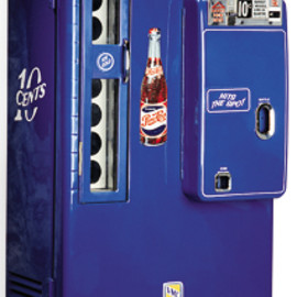 Pepsi Soda Vending Machine