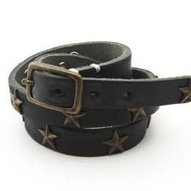M - Studded Leather Bracelet