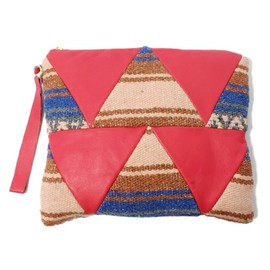 UC-TILE - Triangle pattern Clutch bag Mexican