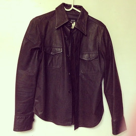 A.P.C. - Leather Shirt