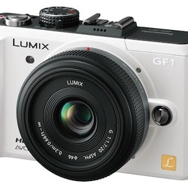 PANASONIC - LUMIX GF1 White