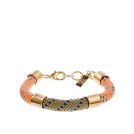 J.CREW - OGJM azalea bracelet- orange natural