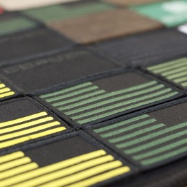 goruck - EMBROIDERED REVERSE FLAG PATCH DETAILS