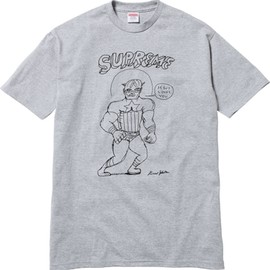 Supreme - Daniel Johnston for Supreme Jesus Loves Tee