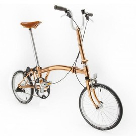 Tom Dixon - Copper Brompton Folding Bicycle