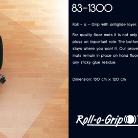 Ergoworks - Roll-o-Grip Floor Mat