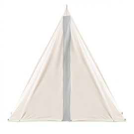 MAKR - SCOUT SINGLE POLE TENT Natural Sunforger Canvas