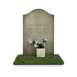 Gross Domestic Product - Banksy Tombstone