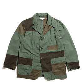ENGINEERED GARMENTS - Bedford Jacket-Cotton Ripstop-Olive