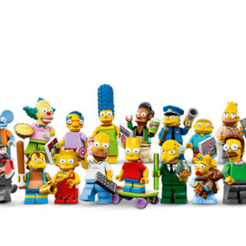 LEGO - The Simpsons Minifigures Set