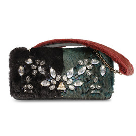 MCM - FUR CLUTCH MEDIUM