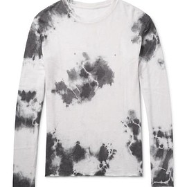 The Elder Statesman - Tie-Dyed Cashmere and Silk-Blend T-Shirt