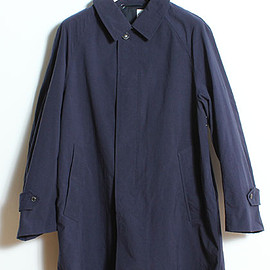 ORCIVAL - nylon ox, nylon chambray coat