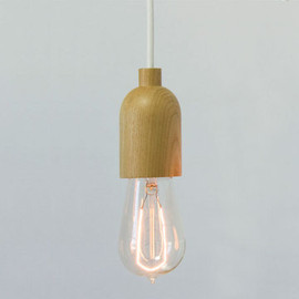 Shine Labs - SOLO Pendant Natural Wood