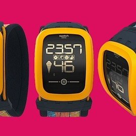 Swatch - Swatch Touch Zero One slams in