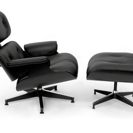 Herman Miller - Eames Lounge Chair & Ottoman All Black Asia Limited Edition 100