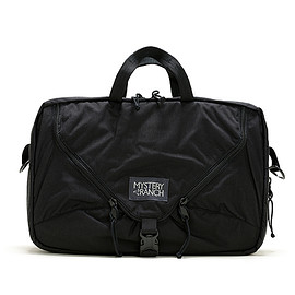 MYSTERY RANCH - Expandable 3way Briefcase-Black