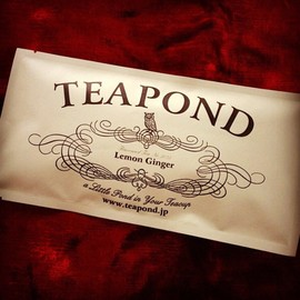 TEAPOND - Tea, Lemon Ginger