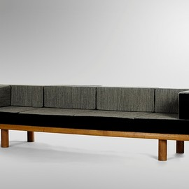 Charlotte Perriand - Oak Sofa, ca 1950