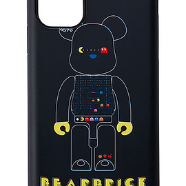 MEDICOM TOY - MLE PAC-MAN シリーズ BE@RBRICK iPhone CASE for iPhone 11