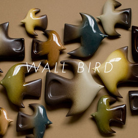BIRDS' WORDS - WALL BIRD