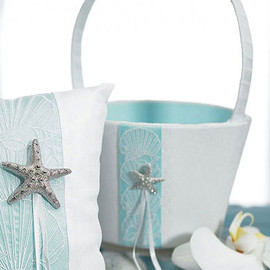 wedding star - Seaside Allure Flower Girl Basket