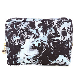 MOTHER & VTOPIA - MOTHER / M.L.S CLUTCH BAG / BLUE BASE