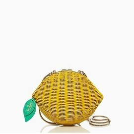 kate spade NEW YORK - VITA RIVA WICKER LEMON!
