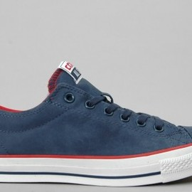 CONVERSE - Converse - CTS OX - Dress Blue/Varsity Red