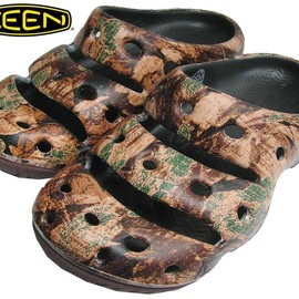 KEEN - 【WPPC 木質ペレット推進協議会】 KEEN / YOGUI ARTSFULL - CAMOFLOWER BROWN