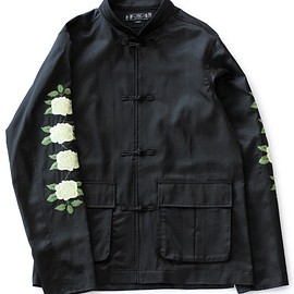 bal - Kung Fu Satin Jacket (black)