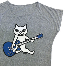 ART SHOP KAGOYA - Tshirt - Blue Guitar      Dolman only