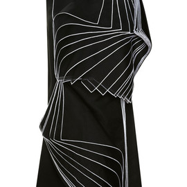 Christopher Kane - FW2014 Double Square Layered Organza Dress