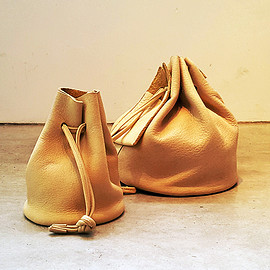 MYTHINKS - ELK Leather Bucket Bag