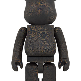 MEDICOM TOY - BE@RBRICK カリモク CRACK PAINT 1000%