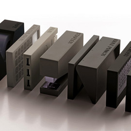 LEXON - BURO desk accessories by Adrian and Jermy Wright