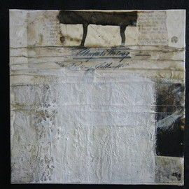 Michaela Mara - untitled, mixed media on canvas