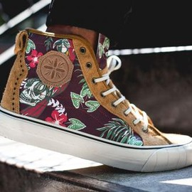 Vans Vault - VANS VAULT TH PARADISE COURT HI LX BROWN