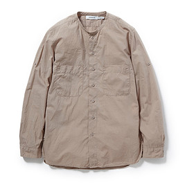 nonnative - TRAVELER SHIRT COTTON TYPEWRITER