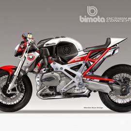 Bimota - BB-4S CAFE' FIGHTER CONCEPT