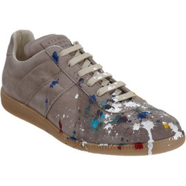 Maison Martin Margiela - Paint Splatter Low Top Sneaker