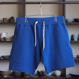YAECA - Sweat Short Pants #blue