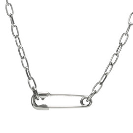 JAM HOME MADE | ジャムホームメイド - S PIN BEANS CHAIN DIAMOND NECKLACE | Sピンビーンズチェーンダイヤモンドネックレス