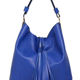 MARNI - LEATHER BUCKET BAG WITH METAL DETAILS
